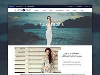 Ecommerce Homepage Mock