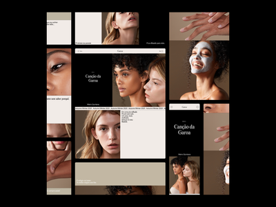 Garoa site is now live! 🔥 design minimal motion agency portfolio typography web design website web branding