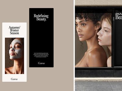 Garoa Site Launch 3d minimal agency portfolio typography ui website web branding beauty editorial ecommerce