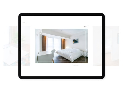 Ambassador Responsive building portfolio photography architecture website ux landingpage interior webdesign gallery