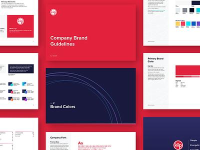 Kiip Brand Guide branding style guide