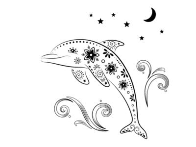 Ornamental World - dolphin
