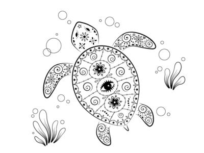 Ornamental World - turtle