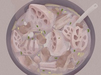 1-Illustrations of everyday delicacies