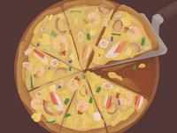 5-Illustrations of everyday delicacies