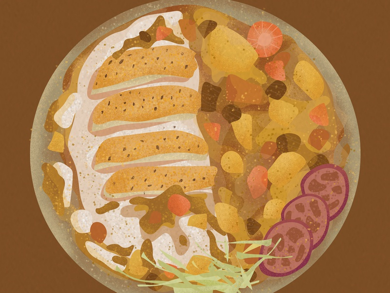 6-Illustrations of everyday delicacies 插图