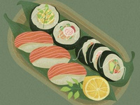 7-Illustrations of everyday delicacies