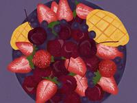 8-Illustrations of everyday delicacies