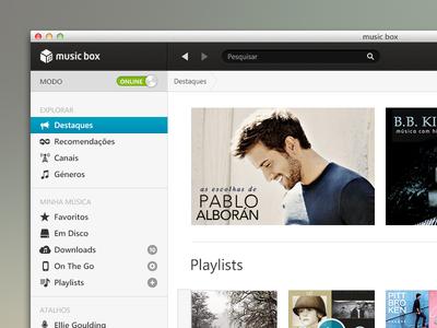 OS X Music Box App