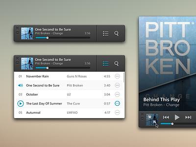 Mini Player - OS X Music Box App mini player audio player songs app musicbox music box music pt sapo mac os x