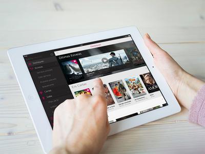 SAPO Cinema iPad Horizontal - Featured Movies