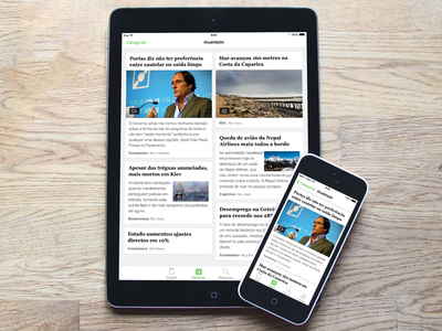 SAPO Jornais - iPhone and iPad