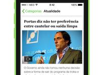 SAPO Jornais - News List