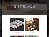 Personal Site - Selected Work