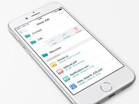 MEO Cloud - Swipe Options