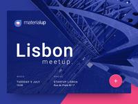 MaterialUp Lisbon Meetup