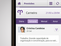 SAPO Astral Android App