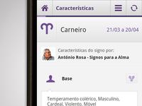 SAPO Astral Android App - Horoscope