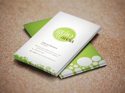 Grao de areia business card small