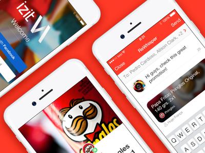 IZIT iOS App Preview