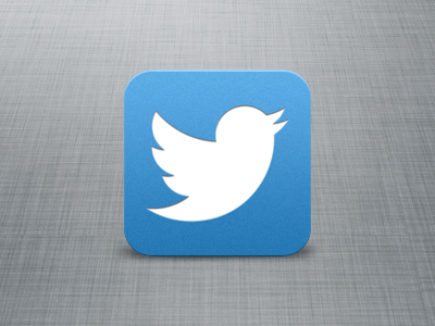 Twitter iOS icon ios icon twitter iphone mobile twitter bird new twitter