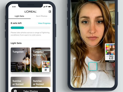 L'Óreal Skin Tone Study skin tone tone skin face detection ios android camera artificial intelligence mobile study
