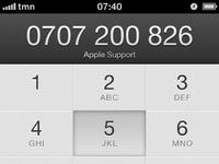 Iphone4 btn pressed