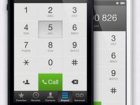 iOS 6 Keypad Redesign