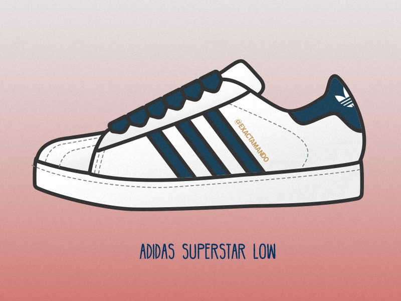 Adidas Superstar Low by Armando on Dribbble