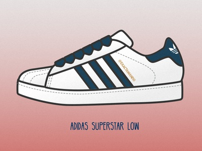Adidas Superstar Low