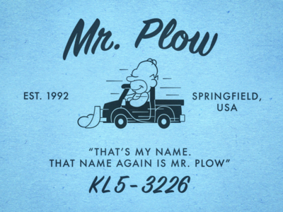 Mr. Plow Rebrand