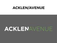 Acklen Avenue logo