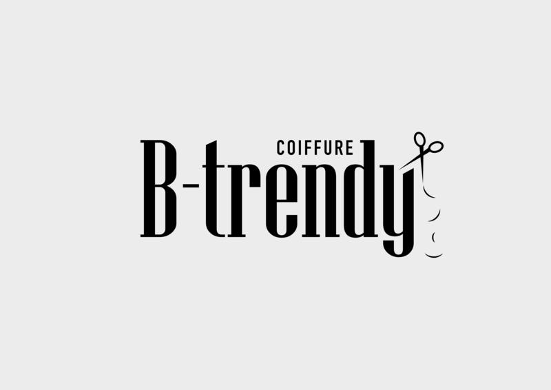 B-Trendy Logo logo design logo design