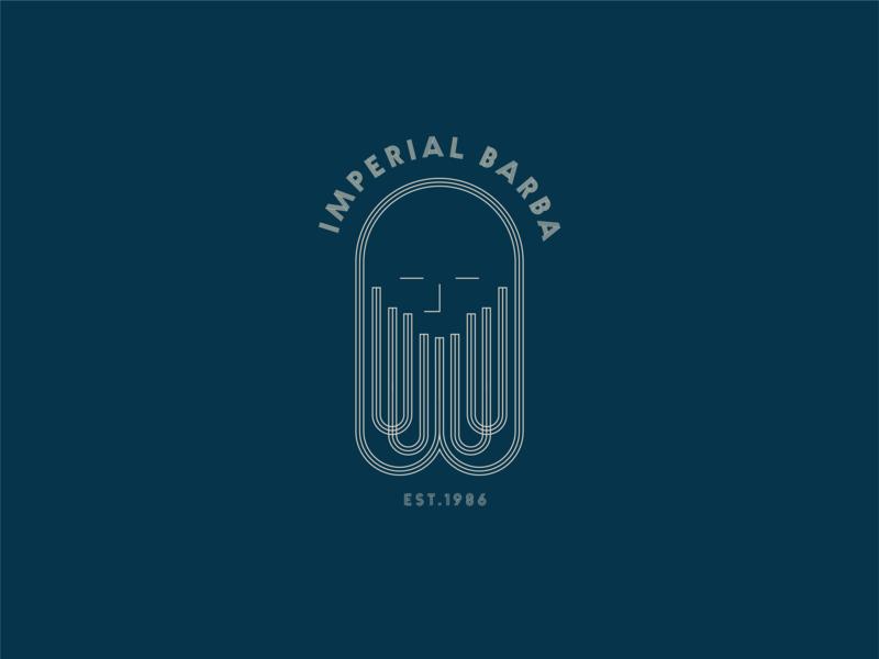 Barber_Logo branding illustration barber barber logo typography logo design logo design