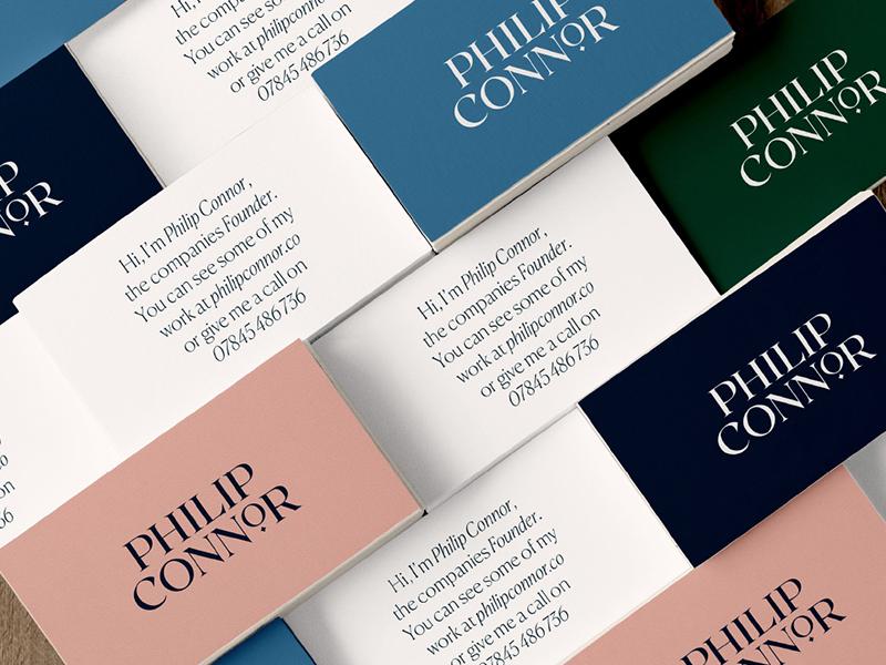 Crafting an English workshop identity typogaphy type neutral business card logo branding brand identity brand design