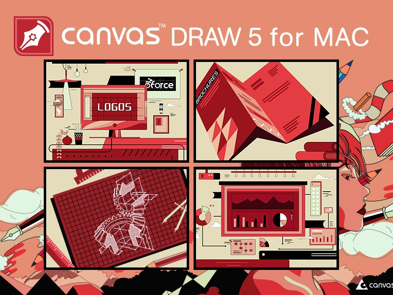 Canvas Draw 5 —sample 1 by 526681415@qq com on Dribbble