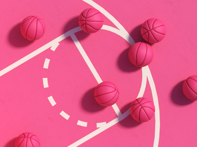 ¡Hello Dribbble! 🏀 speed art art dribbble adobe art direction illustration render graphic design designs maxon cinema 4d cgi 3d art 3d animation 3d