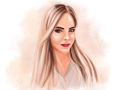 1 graphicdesign illustration photoshop girls portrait design art fashionillustration digital art