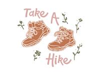 Take a Hike Tee Design