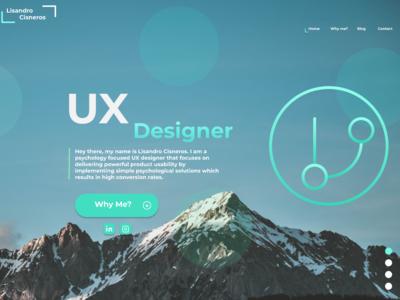 UX Designer Website Portfolio