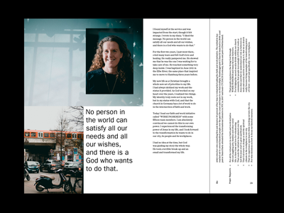 OTW photography paragraphs layout editorial