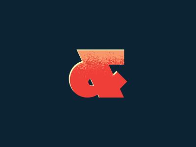 Font No.2 Teaser logo bold thick typeface lettering type ampersand font