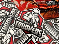 First Order Troopers Sticker