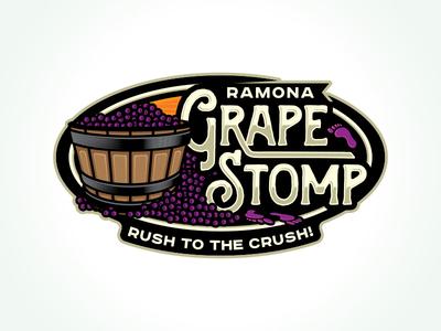 Grape Stomp Logo