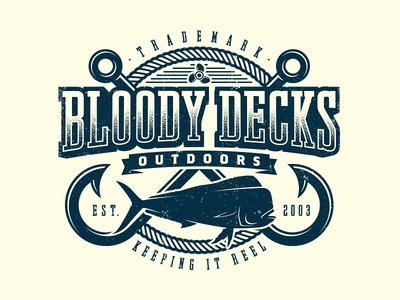 Bloody Decks Tee Graphic