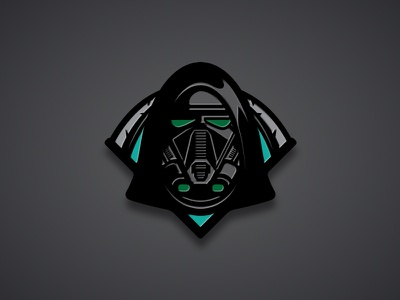 """Death"" Pin vector rogue one star wars enamel pin pin trooper logo badge death"