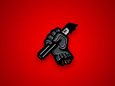 """Like father like son"" Pin lightsaber dark side vector sith star wars rogue one logo enamel pin darth vader badge"