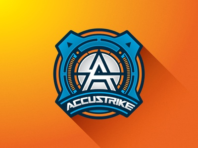 Nerf Accustrike Badge accuracy tactical accustrike technical blaster vector logo badge hasbro toy nerf