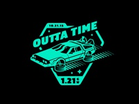 Outta Time Badge