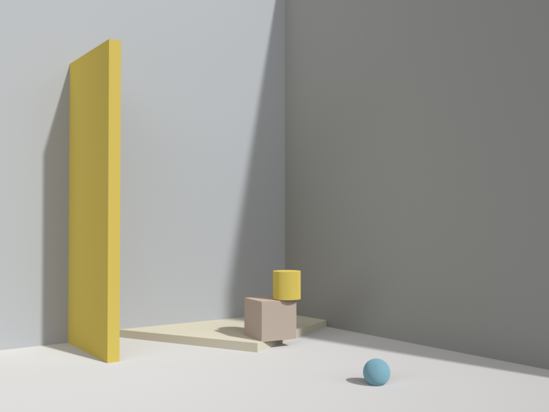 blue ball minimal blue colour dribbble the form 3d model